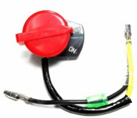 STOP SWITCH Fits Honda Type GX120-390cc + Others Female Bullet + 1 Bullet Wire