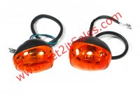 Turn Signal Front (Pair) Fits the E-Ton Beamer R2-50, R4-150, Matrix 50-150 Scooters