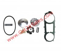 GY6-150 Front Clutch Variator & Powerlink Belt Kit (Long Case) For use on units with the 842x20x30 Belt