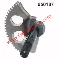 Kick Starter Spindle Gear Fits E-Ton Impuls TXL50, TXL90, Lightning AXL50, Thunder AXL90, Sierra DXL90, Viper RXL50-70-90cc, 50cc Beamer & Matrix Scooters, Polaris, Alpha Sports, Dinli, ATVs. + More