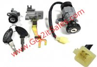 IGNITION SWITCH 4 Pins in 4 Pin FM Jack Bolts c/c=50mm