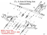 A Arms and Swing Arm B