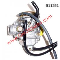 Order part # 815326 This is a Mikuni carburetor used on many 150-250cc ATV's and Scooters The original 811381 Carburetor is no longer available