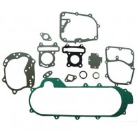 "GASKET SET GY6-50 QMB139 49cc Chinese Scooter Motors 39mm 12/13"" Wheel Long Case Length = 17"""