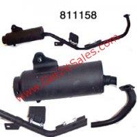 Exhaust Muffler Pipe 49,50,90,110,125,150,250cc ATV Parts
