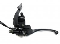 ATV Throttle ASSY Fits Most 50-250cc ATVs with Right Hande Double Front Brake Cables.