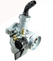 PZ22 Carburetor Manual Choke 50-125cc ATV, Dirtbike Intake ID=21 Air Box OD=40mm Bolts c/c=48mm