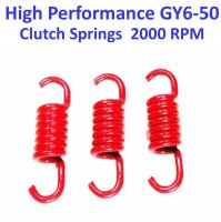 Clutch Spring Set HIGH PERFORMANCE Red +2000 RPM GY6-50 QMB139 49cc Chinese Scooter Motors