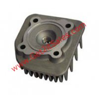 Cylinder Head 47mm E-Ton Viper RXL70cc Fits Most 2 Stroke ATVs and Scooters