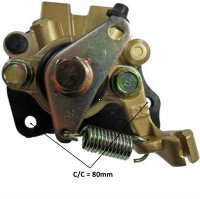 Disc Brake Caliper Mounting Bolts c/c= 80mm Caliper L=95 H=77 Fits Alpha Sports (Tomberlin) Cobra 90, REVO 90 ATV