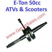 Dinli Polaris ETon 45mm Stroker Crankshaft 90cc 2 Stroke AlphaSports