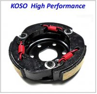 Inner Clutch 104mm HIGH PERFORMANCE RED Spring GY6-50 QMB139 49cc Chinese Scooter Motors