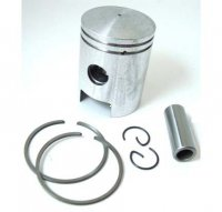 PISTON KIT 49cc 2-stroke B=38 Pin=12 H=49 Ctr Pin To Top=23mm TOMOS A55 Stock