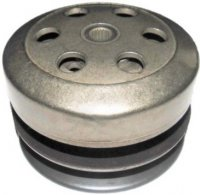 Rear Drive Clutch Pulley GY6-50 QMB139 49-90cc Scooter Motors Bell ID=107mm, Shaft=12mm, Splines=22