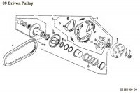 Clutch Variator-Rollers-Clips