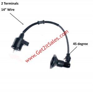 Ignition Coil Fits E-Ton Viper RXL 50,70,90cc ATVs + Polaris, Adly