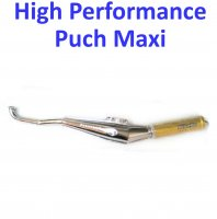 Biturbo High Performance 1 PC Chrome Exhaust For Puch Maxi