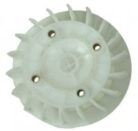 PLASTIC COOLING FAN Fits Most GY6125, GY6150, + More OD=139mm Bolts c/c=52