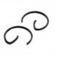CIRCLIPS 10mm Pin Sold Per Pair