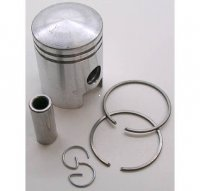 PISTON KIT 49cc 2-stroke B=38 Pin=12 H=50 Ctr Pin To Top=27mm SACHS 8