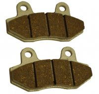 Disc Brake Pads 28x78x9 c/c 40mm Fit E-Ton Sport 50-150, Tomos Nitro 50-150 Scooters, Baja WD90, WD250 ATVs + others