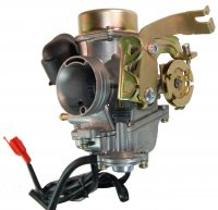 PD31 Carburetor 300cc With Pump and Electric Choke Intake ID=30mm Intake OD=36mm / Air Box OD=46mm