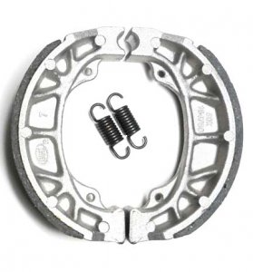 BRAKE SHOES SET OD=105x25mm Fits Many Tomos Mopeds - ATVs - Scooters