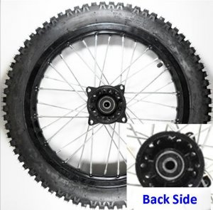 Wheel Rim Front 14 With Tire 1 40x14 Disc Brake Hub