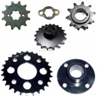 Front & Rear Drive Chain Sprockets