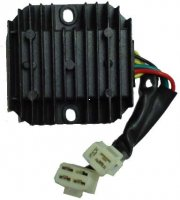 RECTIFIER REGULATOR 150cc 4-stroke 3 Pin Jack + 4 Pins in a 4 Pin Jack 80 x 65mm