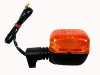 Turn Signal Fits E-Ton Beamer 50-150 Scooters + Many other brands 63 x 43 x 58 2 Wires