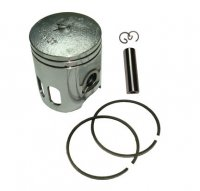PISTON KIT 90cc 2-stroke B=50 Pin=12 H=60 Ctr Pin To Top=34 mm