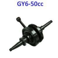 49cc Crankshaft For GY6-50 QMB139 49-80cc Scooter Motors. Click Here for specs and fitment: