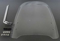 "Universal 49cc Scooter Windshield 16.5x15.5""(WxH), Hardware included"