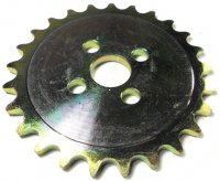 Jackshaft Sprocket #420 25th Fits Coleman KT196 GoKart + Others ID=21mm Bolts c/c=36mm