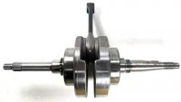 CRANKSHAFT Thread OD Spline Side=12mm,Taper Side=14 Length=312 Splines=22 Bearing OD=68 Pin ID=15.8