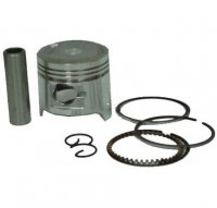 PISTON KIT 150cc 4-Stroke GY6-150cc B=57.4 Pin=15 H=38.5 Ctr Pin To Top=19 mm