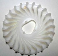 PLASTIC FAN OD=167mm Fits Honda Type GX160/200cc + Other 163-212cc Engines Used on Power Equipment-GoKarts-Minibikes