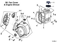 Fan Cover and Engine Shroud