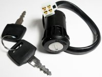 Ignition Switch Fits Many ATVs 4 Pin Male Jack OD=25mm