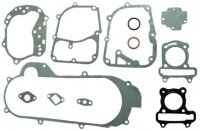 "GASKET SET GY6-50 QMB139 49cc Chinese Scooter Motors 39mm 10"" Wheel SHORT Case Length = 15.75"""