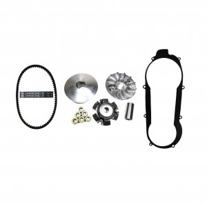 GY6-150 Front Clutch Variator & Powerlink Belt Kit (Short Case) For use on units with the 743x20x30 Belt