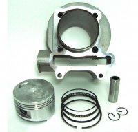 Cylinder Piston Top End Kit Fits GY6-150 ATVs, GoKarts, Scooters, UTVs TYPE 1 Bolt Pattern B=57 H=69