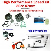 High Performance Scooter Moped Parts GY6 49,50,60,70,80,100
