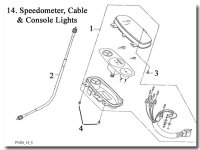 Speedometer Cable and Console Lights