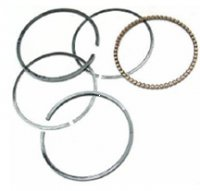 Piston Rings 150cc 57.00mm 4-Stroke Sold Per Set Fits Most GY6-150, ATVs, GoKarts, Scooters