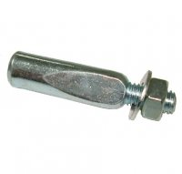CRANK COTTER PIN W/NUT 9.5mm