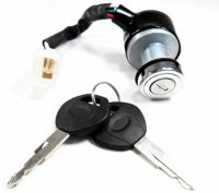 Ignition Switch Fits Many ATV-GoKarts-Dirtbikes 3 Pins in 3 Pin Female Jack