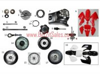 Fast Moving Dirt Bike Parts