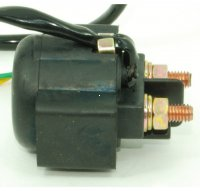STARTER RELAY 50-250cc Scooters-ATVs-Motorcycles-Go Carts 2 Pin Jack Wire L=6""